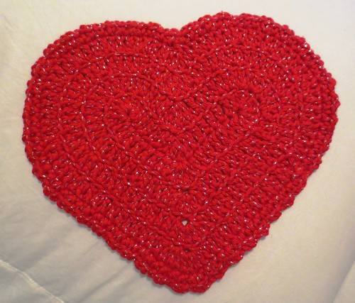 Heart Dishcloth
