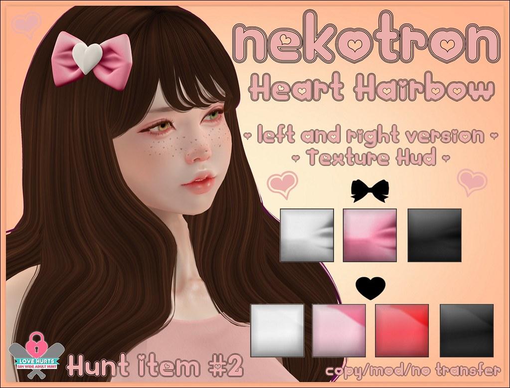 Hunt Item #2 - @ Love Hurts Hunt
