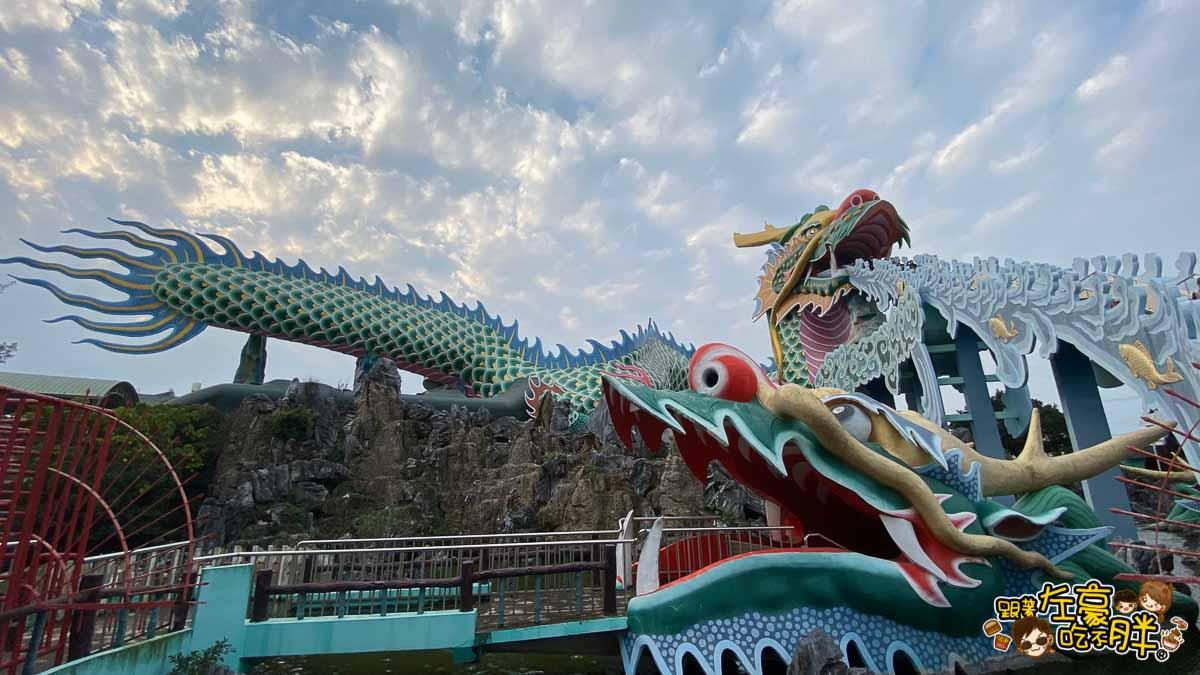 台南旅遊 台南代天府十八層地獄溜滑梯沙坑-56