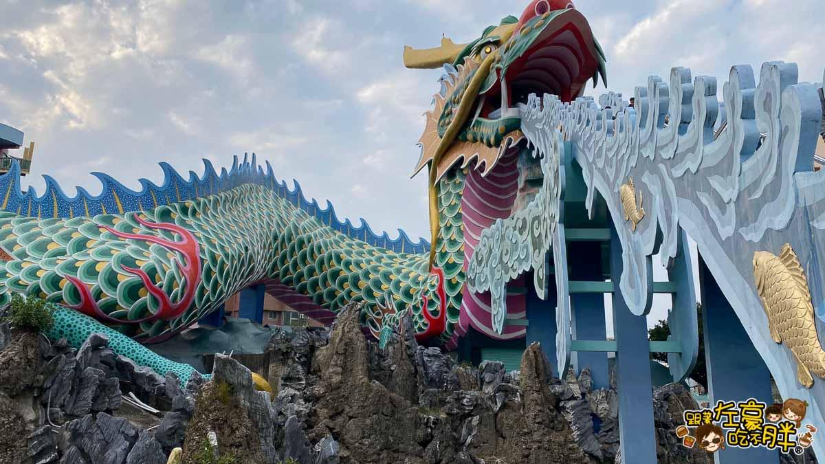 台南旅遊 台南代天府十八層地獄溜滑梯沙坑-55