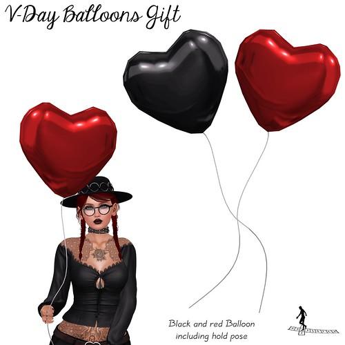 VDay Balloons Gift