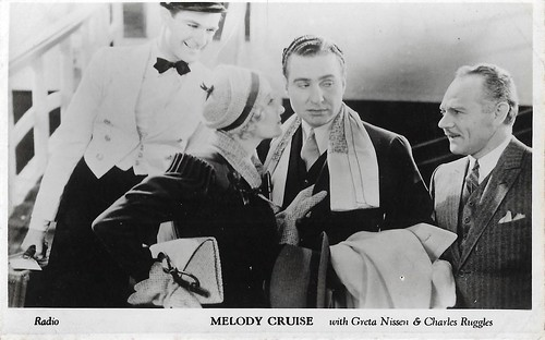 Greta Nissen and Charles Ruggles in Melody Cruise (1933)