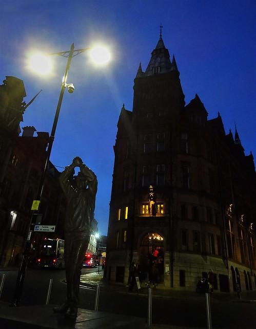 Nottingham after dark