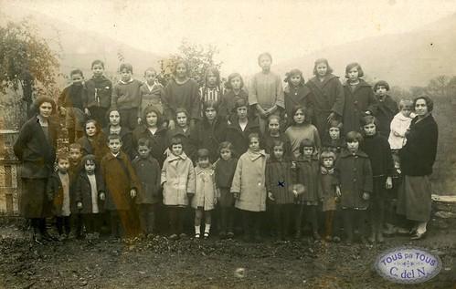 1923 - Grupo escolar de la villa