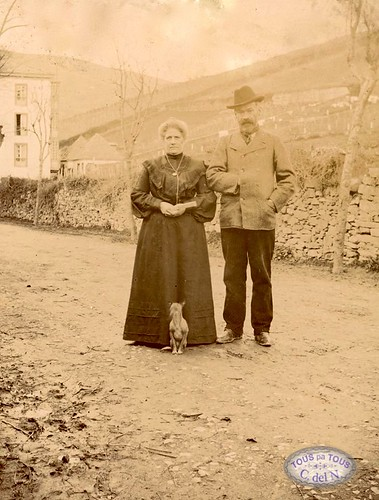 1900 - Retrato en El Paseo tous