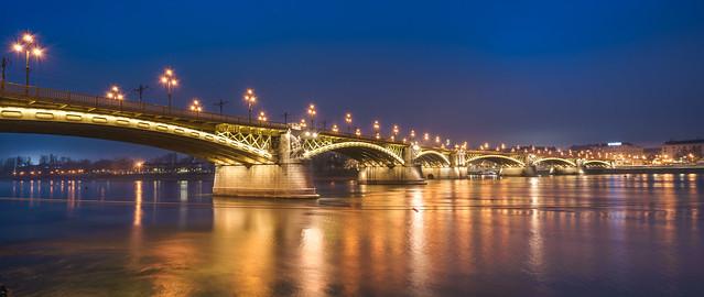 Margit hid Budapest