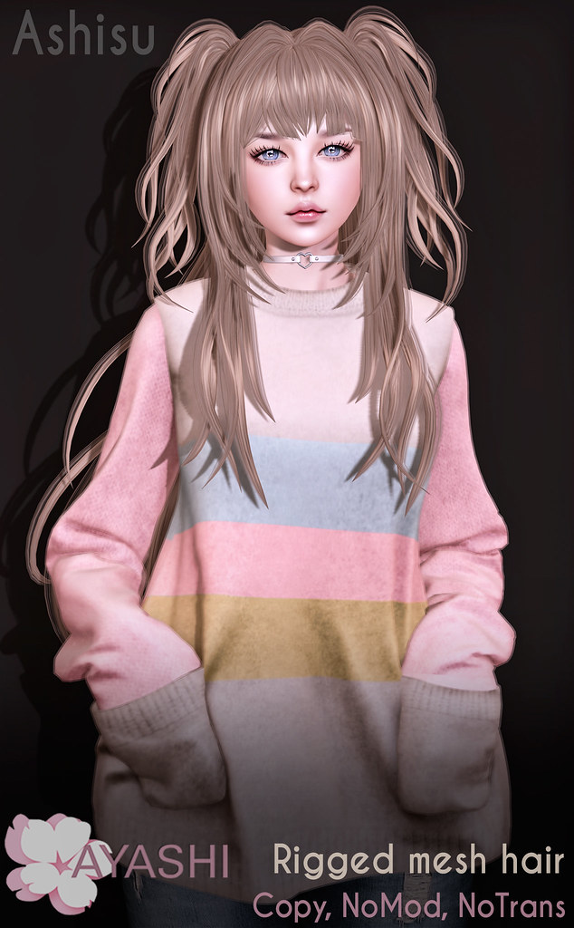 [^.^Ayashi^.^] Ashisu hair special for FaMESHed