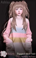 [^.^Ayashi^.^] Ashisu hair special for FaMESHed