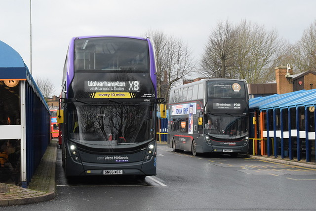 NXWM 6780 and 6759 @ Dudley bus station