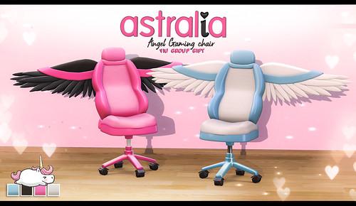 Astralia - Angel Gaming Chair VIU GIFT