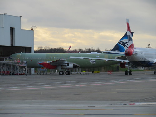 F-WWDQ A20N 10013 Egyptair tail cls, primer