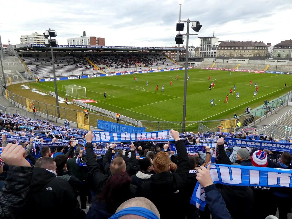Fc Bayern Munchen Ii 1 0 Fc Hansa Rostock Hansa Support 3 Flickr