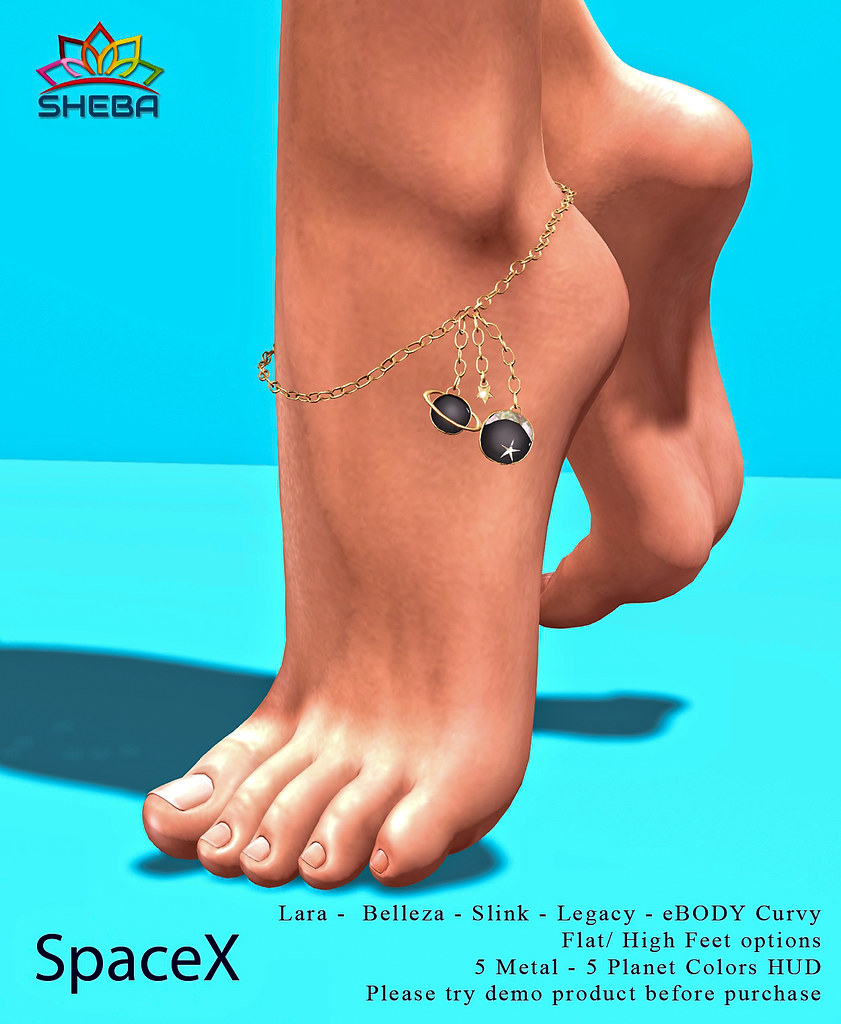 [Sheba] SpaceX anklet @FBF