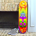 Shroom Clown Skateboard Simeone Graphix