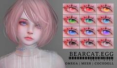 BEARCAT.EGG ; Doll Eyes