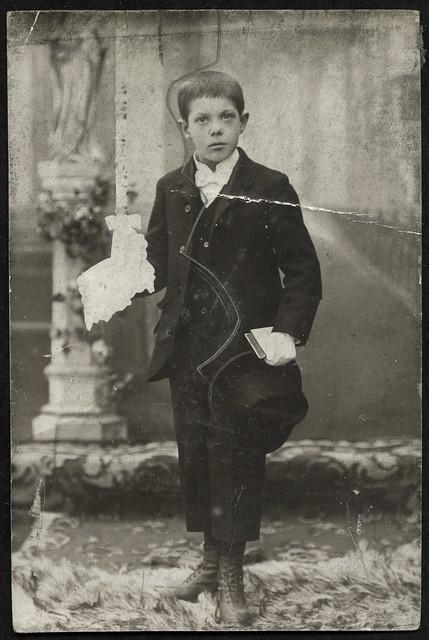 ArchivV167 Erstkommunion, Junge, 1900er