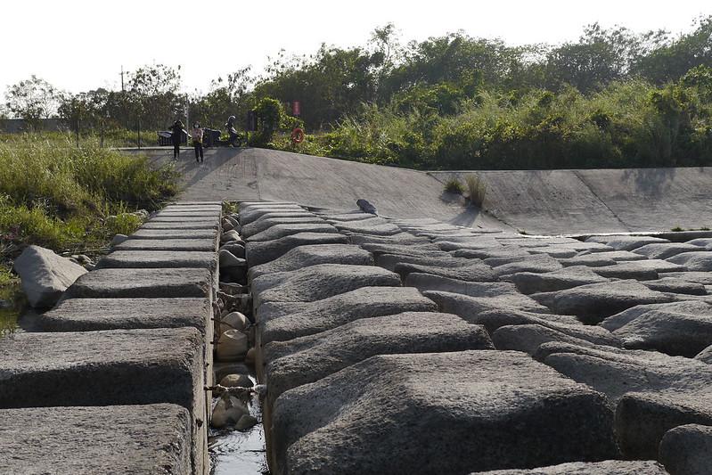 豆腐岩 新竹頭前溪