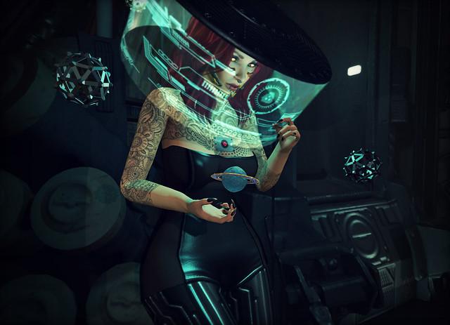 Stuck in a Cyberpunk Capsule
