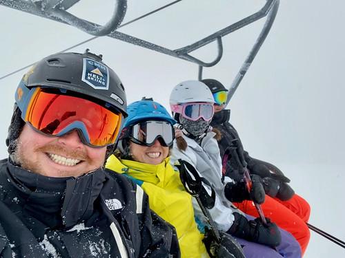Family ski day!