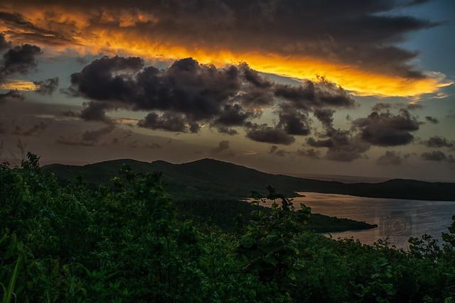 Sunrise in Martinique