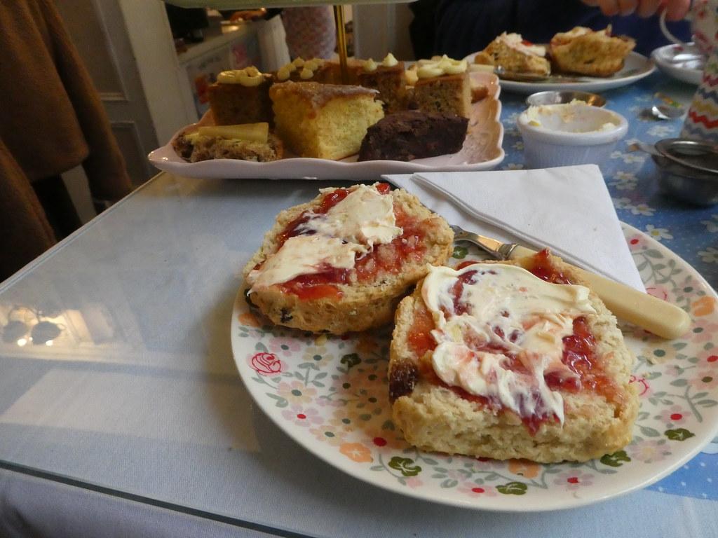 Bells Tea Shop, Steep Hill, Lincoln - afternoon tea
