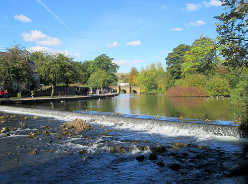 Old Bridge from Weir, Bakewell