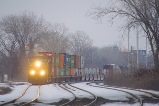 Intermodal up front