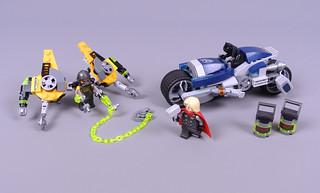Review: 76142 Avengers Speeder Bike Attack