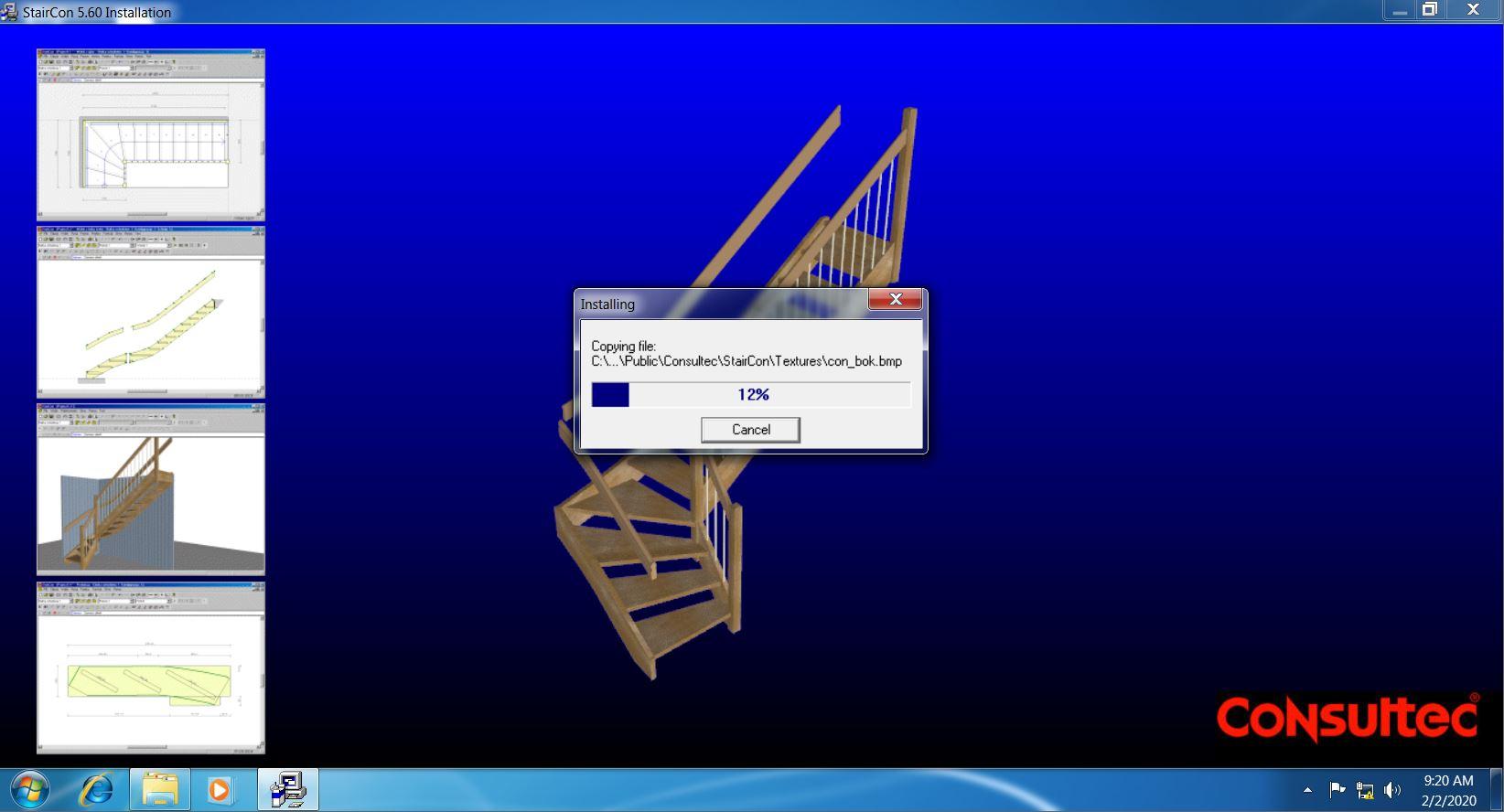 Install StairCon 5.6 full license