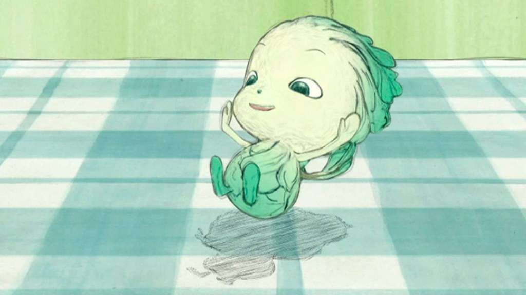 070314 -「天野喜孝」設計蔬菜小精靈《やさいのようせい N.Y Salad》將於4/5躍上電視螢光幕!