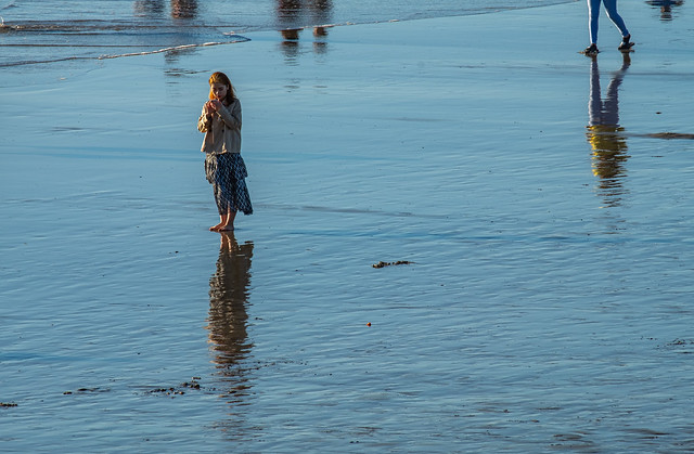 reflective moment