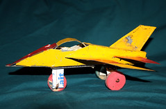 Jet Fighter - Recycled Tin from Burkina Faso