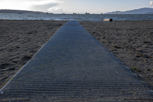 Accessible Beach Mat @ English Bay | by GoToVan