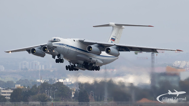 TLV - Russian Air Force Ilyushin 76 RA-78845