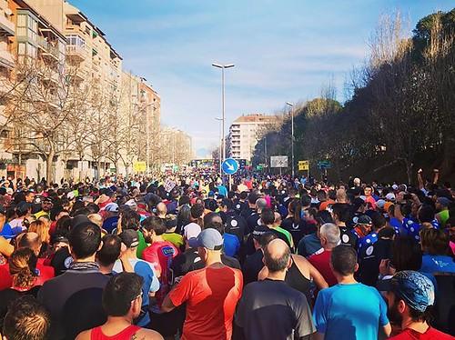 A punt per #córrer la 34a #cursa @lamitja #21K #Granollers #LesFranqueses #LaGarriga la meva primera #MitjaMarató! #running #VallèsOriental