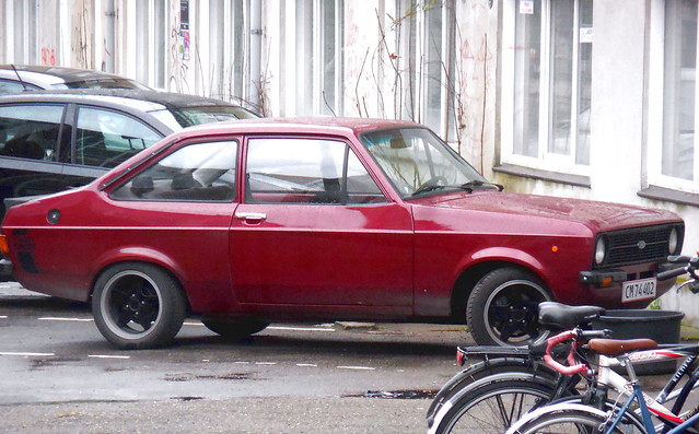 Immaculate Ford Escort 1300 CM74402 newly reregistered a month ago after 10 years in store