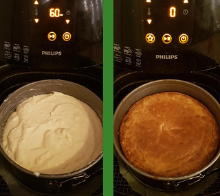 Cheesecake Airfryer before and after | by tipsvoorpapas