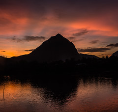Nong Khiaw Sunset