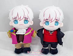 Mystic Messenger: Saeran/Ray/Unknown plushies