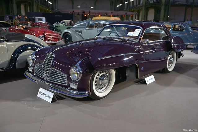 1949 Delahaye 135 MS Coupé Ghia Aigle