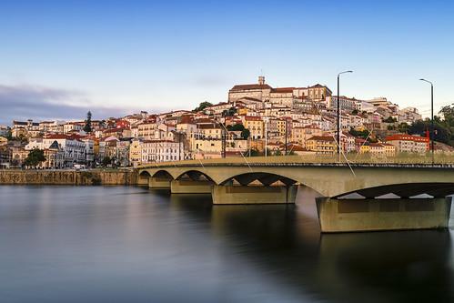 outdoors landscape city water river sky bridge longexposure coimbra portugal europe travel nikon nikond850 tamron tamron1735284 gazzda hrvojesimich hrsim