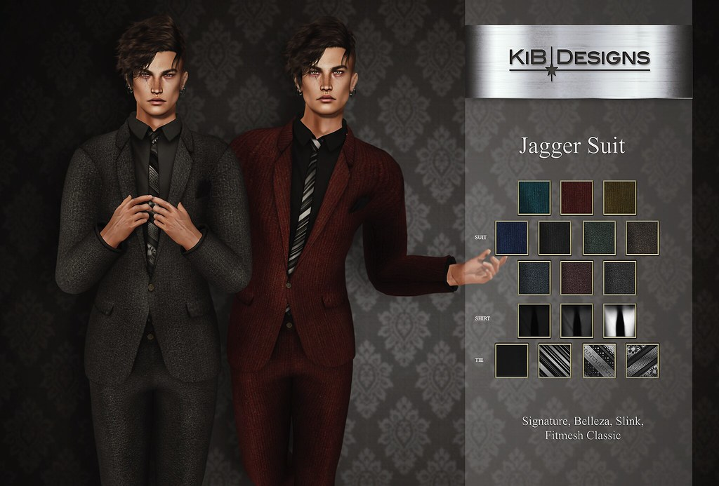 KiB Designs - Jagger Suit @Designer Showcase