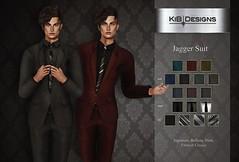 KiB Designs - Jagger Suit @Designer Showcase