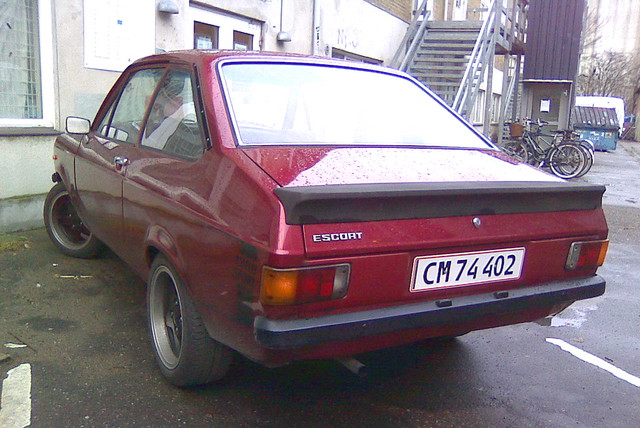 Immaculate 1976 Ford Escort 1300 CM74402 newly reregistered a month ago after 10 years in store.