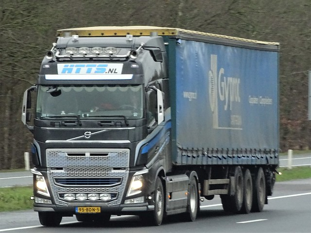 Volvo FH4 globetrotter from HTTS Holland.