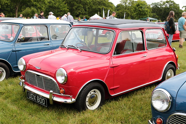 1964 Austin Cooper UDX800 MCR National Mini Cooper Day Beaulieu 2019