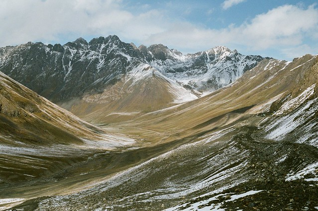 Kyrgyzstan, road to the Chon-Ashu pass. September 2019