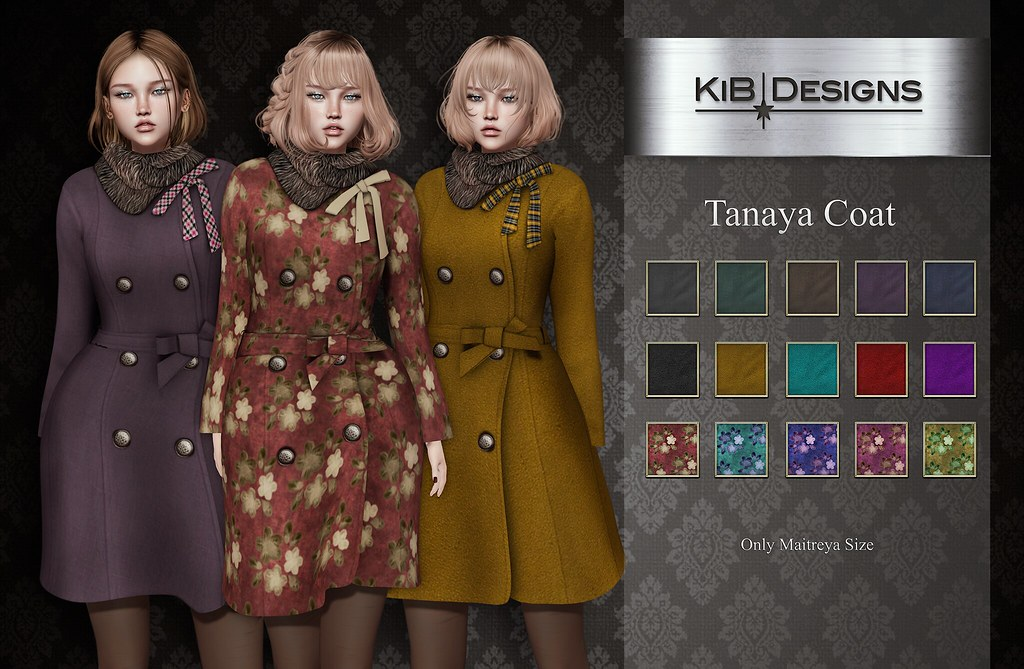 KiB Designs – Tanaya Coat @Designer Showcase