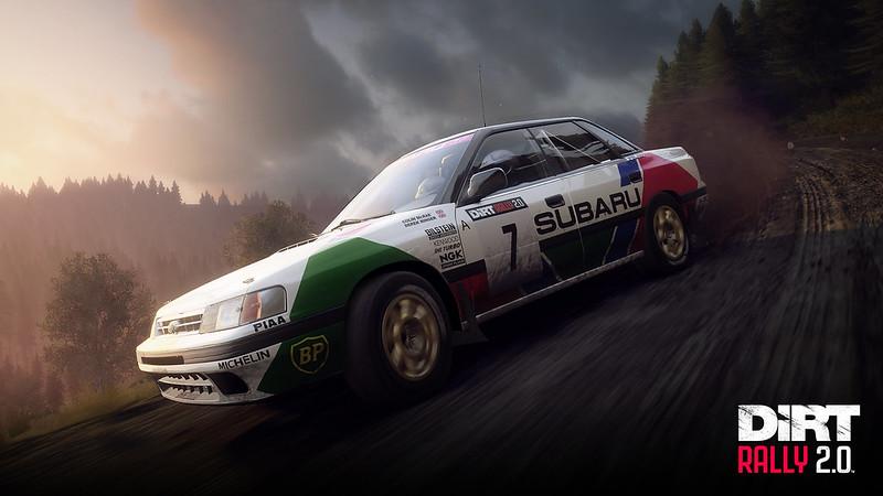 DiRT Rally 2.0 SUBARU Legacy RS