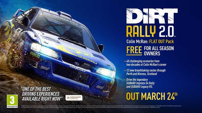 DiRT Rally 2.0 Announcement